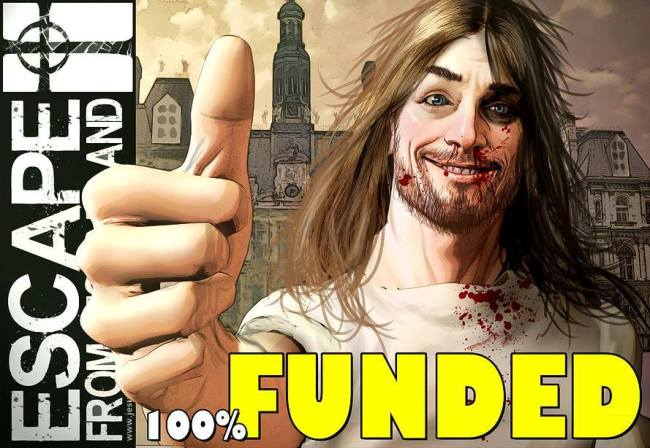 The Escape From Jesus Island Kickstarter was successful! Click here to see the results!